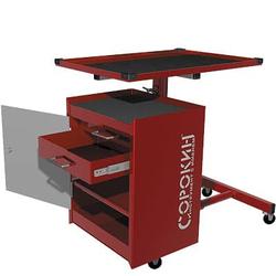 Сорокин 24.72 Стол диагностический с тумбой Сорокин Мебель металлическая Сервисное оборудование