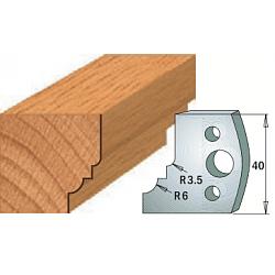 Комплекты ножей и ограничителей серии 690/691 #019 CMT Ножи и ограничители для фрез 40 мм Ножи
