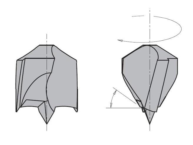 L=70 S=Ø10x30 Глухие свёрла CMT Свёрла и зенкеры Инструмент